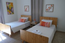 One of the 4 guest rooms at Baffa House.