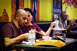 International tourist in Hoi An ? No ! Here is Hoi An corner at Asiana Food Town