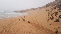 Trek côte sauvage marocaine