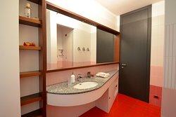 Bagno camera Rossa