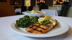 Delicious Salmon and broccoli