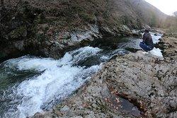 meditation on Cerna river