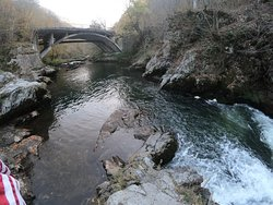the Cerna River, one of the most important energy points for the planet