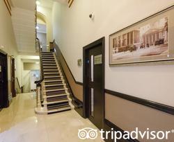 Stairs at the Park Grand Paddington Court
