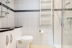 A shower room in Wallops Wood