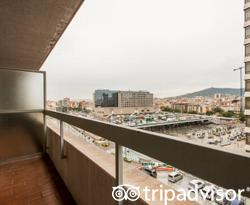 The Double Superior Room at the Expo Hotel Barcelona