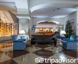 Lobby at the Senator Barcelona Spa Hotel