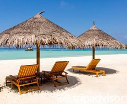 Beach at the Four Seasons Resort Maldives at Kuda Huraa