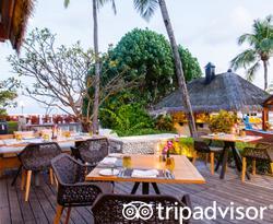 Cafe Hurra at the Four Seasons Resort Maldives at Kuda Huraa
