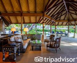 Lobby at the Four Seasons Resort Maldives at Kuda Huraa