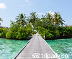 Water Villas at the Four Seasons Resort Maldives at Kuda Huraa
