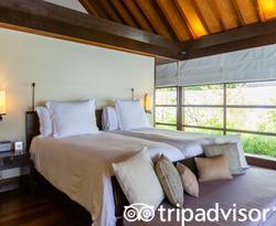 The Two-Bedroom Royal Beach Villa at the Four Seasons Resort Maldives at Kuda Huraa