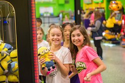 You can do a lot of fun activities in one place...Jump, eat, celebrate event, and of course play arcades.