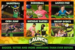 Various activities that you can do at launch trampoline of herndon.