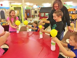 Fizzy balloon fun!