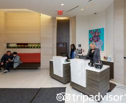 Lobby at the Hyatt House New York/Chelsea