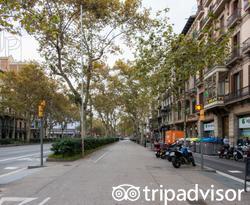 Street at the Almanac Barcelona