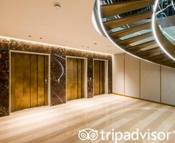 Elevators at the Almanac Barcelona
