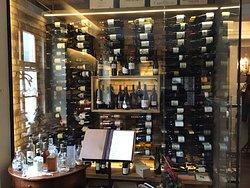 parete di vini