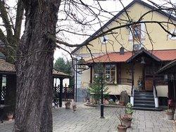esterno della villa/ristorante