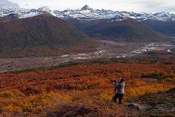 Vista al Valle de la Paciencia en Tierra del Fuego