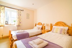 The Stiddle self catering cottage - twin bedroom
