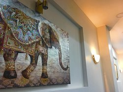The Beauty Full decoration of  Best of India Cafe and Restaurant