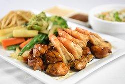 Shrimp and Chicken Hibachi