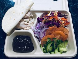 Asian Cold Street Food Style Taco Lunchbox