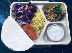 Indian Cold Street Food Style Taco Lunchbox