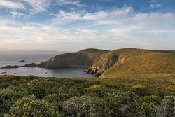 Wonderful vistas and ocean views at Cape Bruny whilst on our Bruny Island Safaris