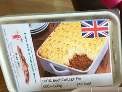 Sample of take away food at Euro Deli, Hua Hin - Cottage Pie