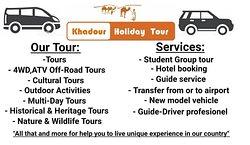 Khadour Holiday Tour