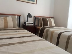 Room 4 - Double Bed. Accommodate 2 Persons.