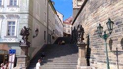 Лестница к Пражскому граду