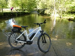 Hire an electric bike and explore the area including the famous Winster Ford - but don't ride through it! Take the bridge... (photo Phil Eccles)