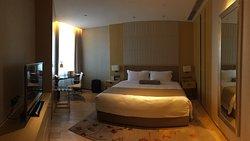 雙人房間很寬敞