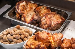 Traditional Lazy Jacks carvery deck with pork, beef and lamb. Every Sunday from 12:00 pm.  Served with a small beer or a glass of house wine.