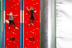 Race your friends on our 'Speed Climb'!
