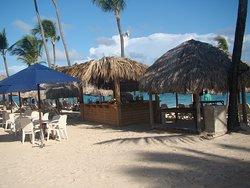 Bar na praia.