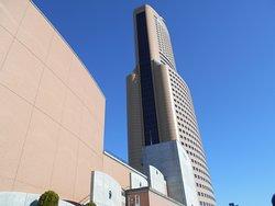 近隣地区では圧倒的な高層建築