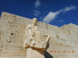Statue of Menander