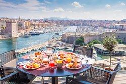 Terrasse Restaurant Les Trois Forts