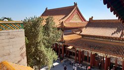 the roofs of in the Summer Palace