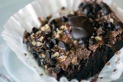 Homemade Turtle Brownies