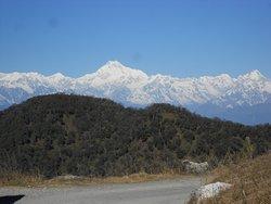 Panoramic view of Mt. Kanchenjungha