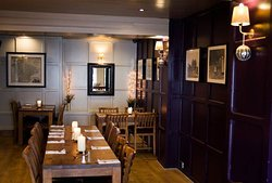 The panel room, part of our restaurant and also serving as a secondary function room