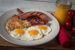 Hungry Man's Breakfast