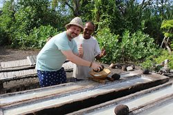 """Traditional Salt Maker in Bali"""