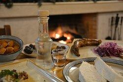 "Winter ""mezedes""  Best served with Cretan raki!"